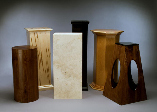 Impressive Wood Pedestals for Sculpture Display 600 x 429 · 28 kB · jpeg